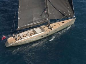 Dark Shadow Sailing Yacht