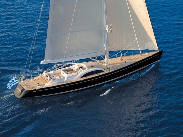 Sailing Yacht Charters SY Aristarchos