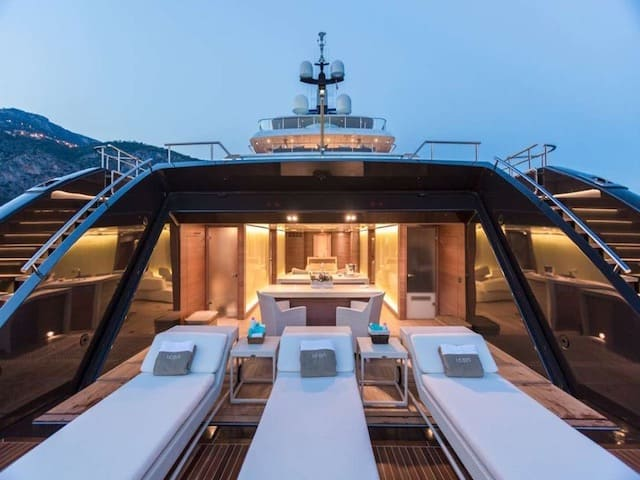Superyacht Charters Beach Club