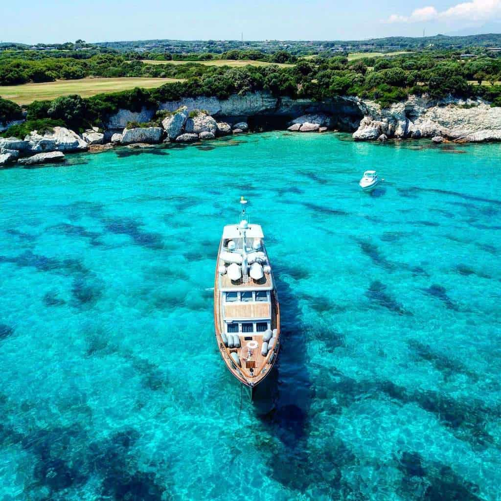 What is a Luxury Mediterranean Crewed Yacht?